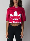 T-SHIRT CROPPED, FUXIA, thumb