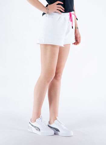 SHORTS GRAFICA ORSETTO, BIANCO, small