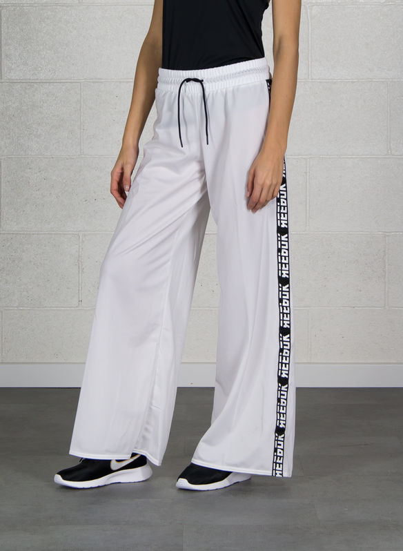 PANTALONE WOR MEET YOU THERE WIDE LEG, WHT, medium