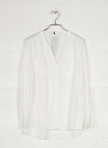CAMICIA LOOSE LONG SLEEVED, CLOUD, small