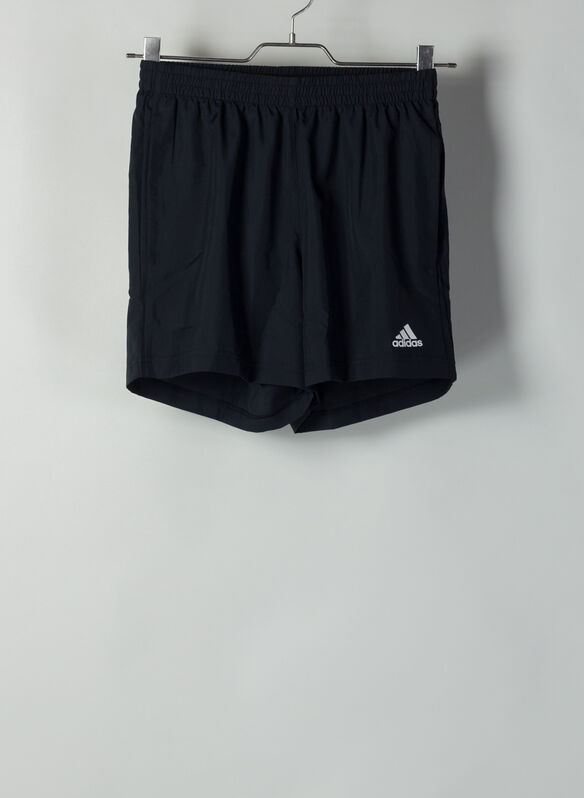 SHORT RUN IT 3-STRIPES PB, BLK, medium