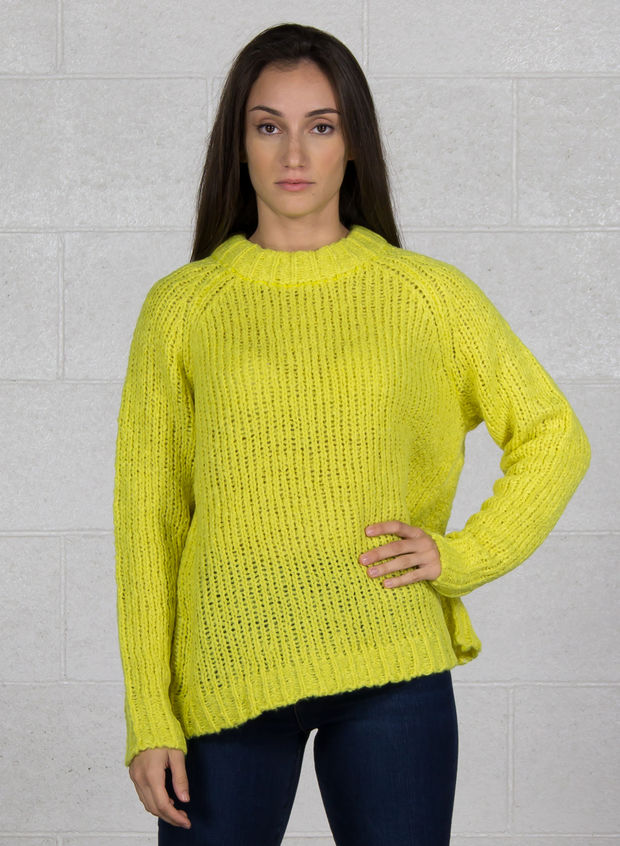 MAGLIONE WASAU, LIME, large