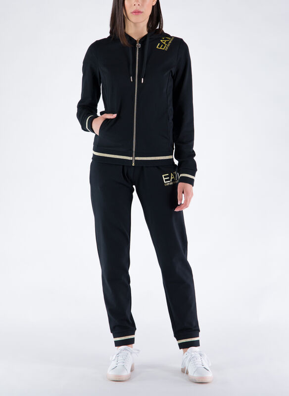 TUTA CORE FULL ZIP, 1200BLK, medium