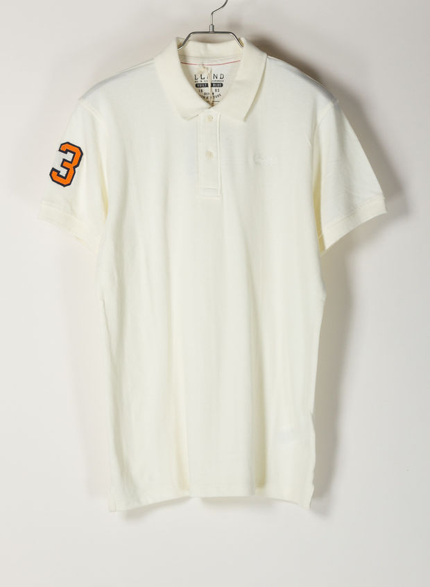 POLO PIQUET NUMBER, 70005WHT, large
