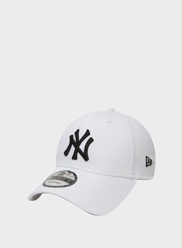 CAPPELLO 9FORTY NYY ESSENTIAL, WHT, medium