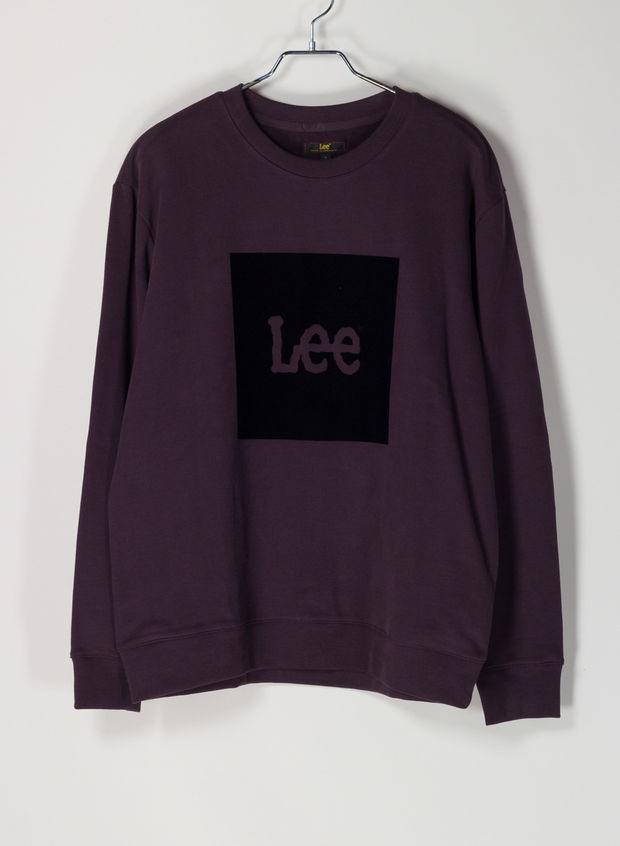 FELPA LOGO FLOCK, KA BORDEAUX, large