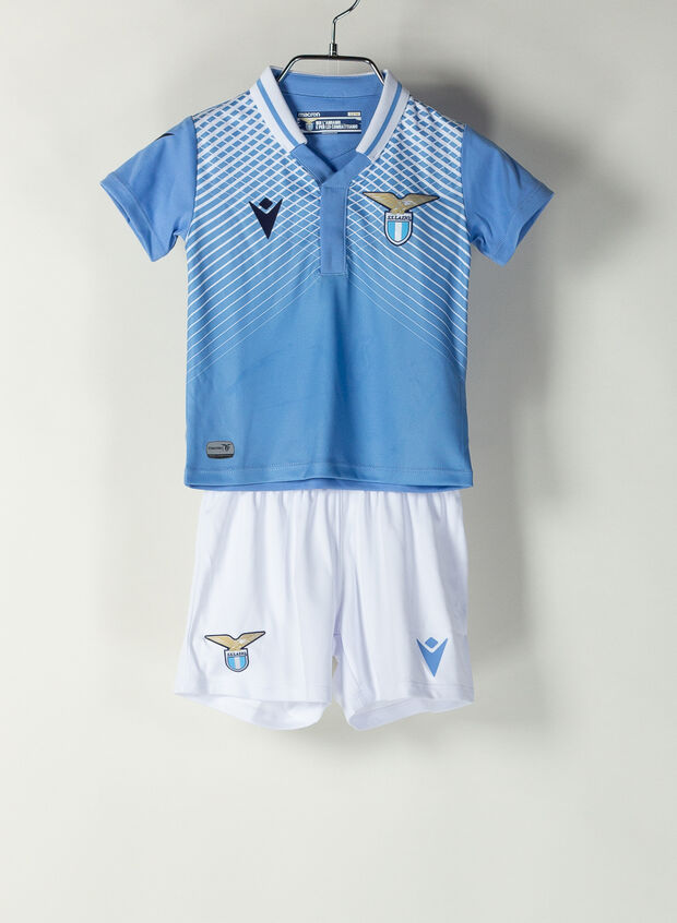 MACRON COMPLETO HOME S.S. LAZIO 2020-21 INFANT azzurro, bianco ...