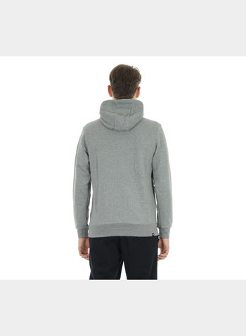 FELPA HOODIE IN PILE STYLE NO.1 LOGO , 003GREY, small