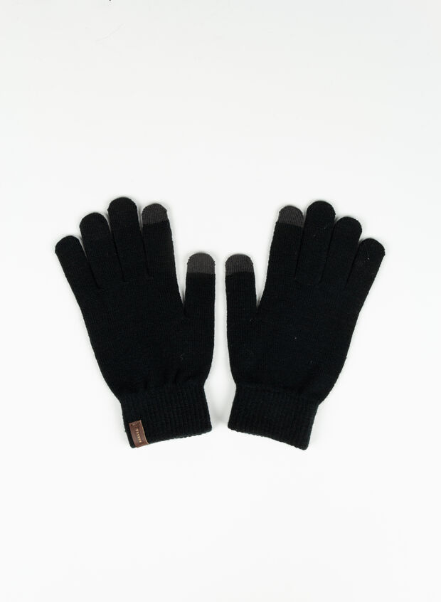 GUANTO BE MAGIC TOUCH, BLK, large