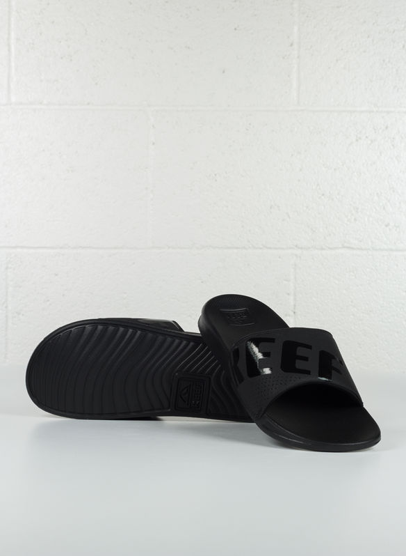 CIABATTA  ONE SLIDE, ALB BLK, medium