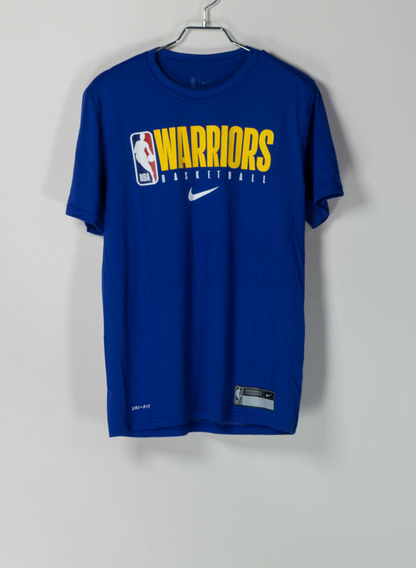 T-SHIRT NBA GOLDEN STATE WARRIORS, 495BLUE, medium