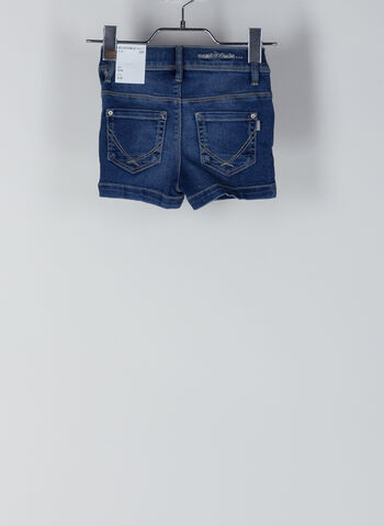 SHORTS DENIM SALLI BAMBINA, MEDIUM BLUE, small