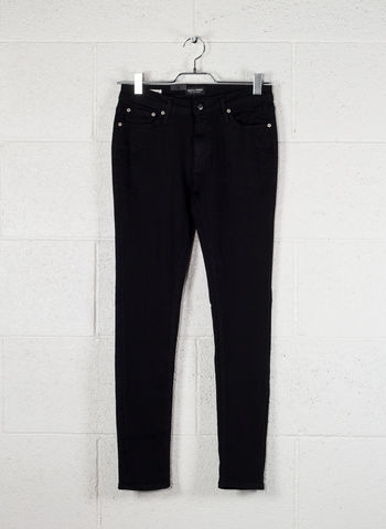 JEANS LIAM ORIGINAL AM 009 SKINNY FIT , AM009BLK, small