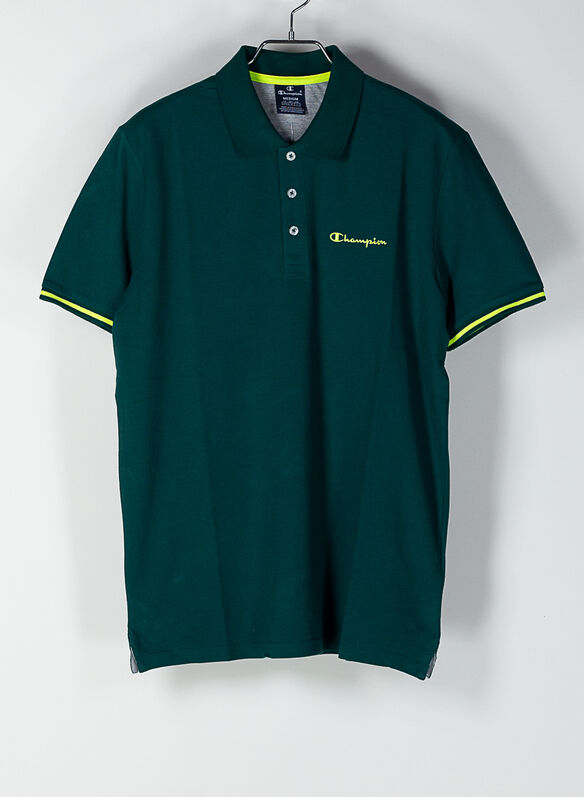 POLO PIQUET, GS502GREEN, medium