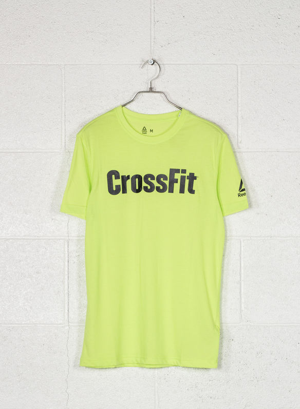T-SHIRT CROSSFIT SPEEDWICK F.E.F. GRAPHIC, NEON LIME, medium