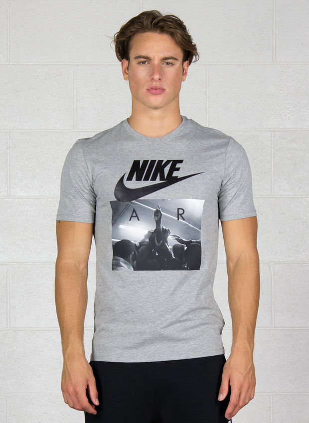 T-SHIRT GRAPHIC, 063GREY, large