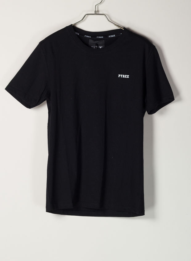 T-SHIRT BASIC, NERO, large