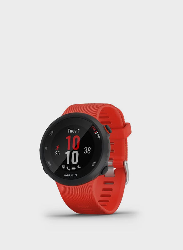 GPS FORERUNNER 45, RED, medium