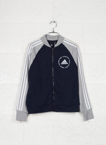 GIACCA SPORT ID BOMBER, INKGREYWHT, small