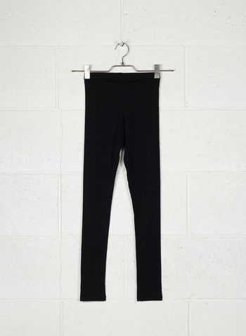 LEGGINGS BASIC RAGAZZA, BLK, small