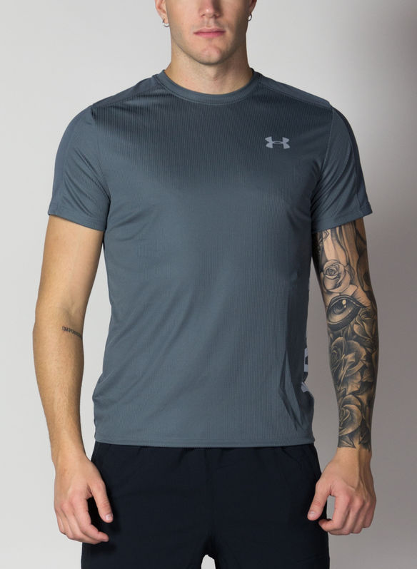 T-SHIRT SPEED STRIDE SPLIT, GREY, medium