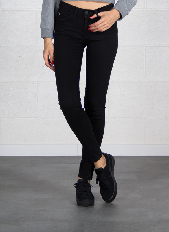 JEANS CURVE X, GROW BLK, medium