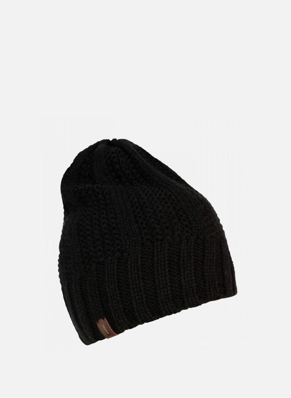 CAPPELLO UTHA LONG COSTE, BLK, medium