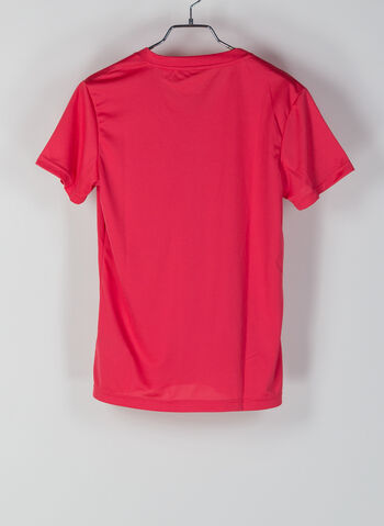 T-SHIRT SOLID MOVE, FUXIA, small