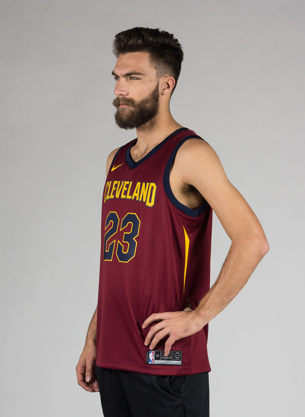 newest 09e52 0290c M CANOTTA NBA CAVALIERS LEBRON RED