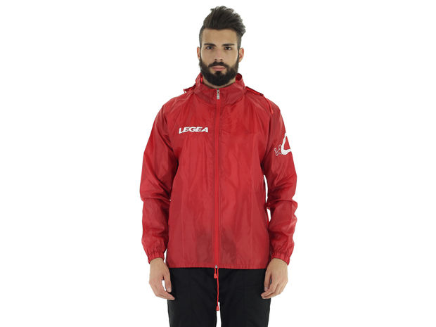 K-WAY RAIN JACKET ITALIA TORNADO, 0012RED, large
