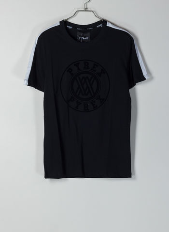 T-SHIRT LOGO, NERO, small
