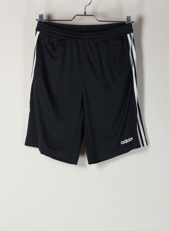 SHORT DESIGN 2 MOVE CLIMACOOL 3-STRIPES, BLK, medium