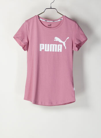 T-SHIRT ESSENTIAL LOGO, 16PINK, small