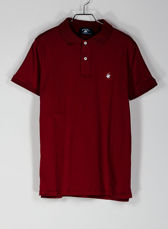 POLO PIQUET STRETCH, RED, medium