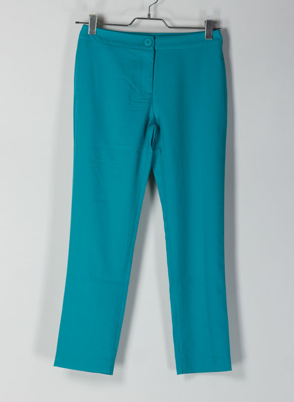 PANTALONE TASCHE A FILO, EMERALD GREEN, medium