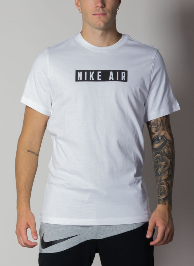 T-SHIRT AIR, 100WHT, large