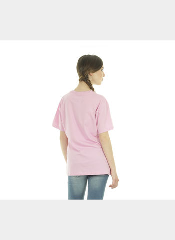 T-SHIRT BIG LOGO , ROSA, small