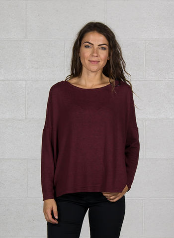 MAGLIONE MAYE, CHOCOLATE, small