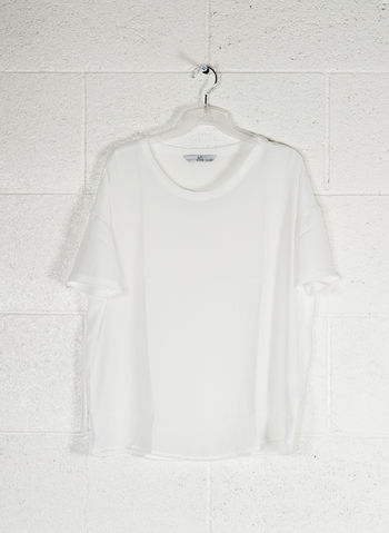BLUSA MC LIGHT, BIANCO, small