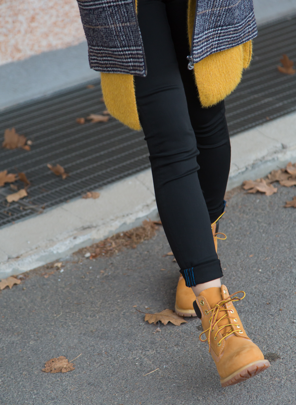 BLACK&YELLOW outfit donna inverno