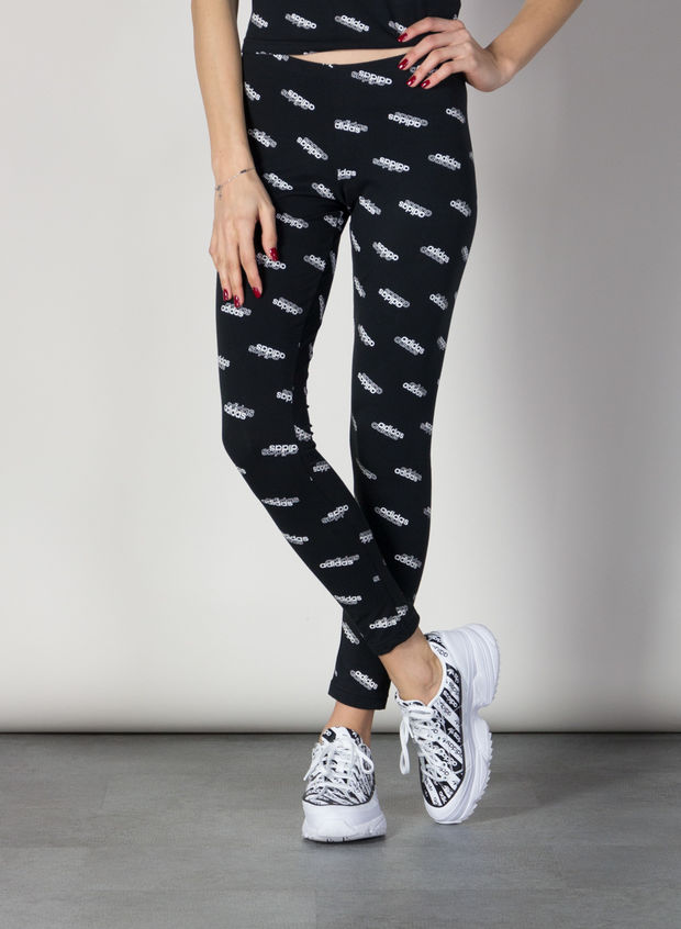 LEGGINGS CORE ALL OVER, BLK, large