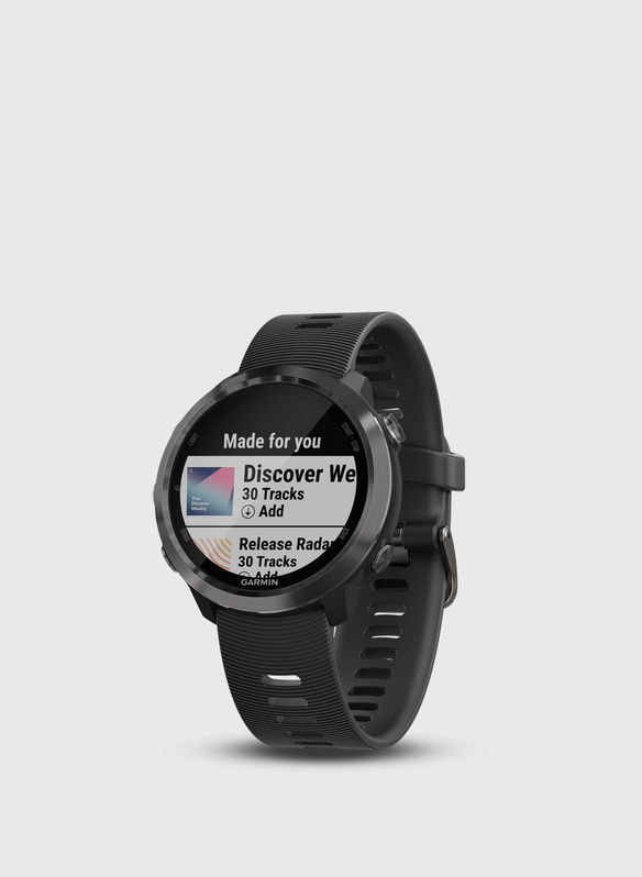 GPS FORERUNNER 645 MUSIC, ALLBLK, medium
