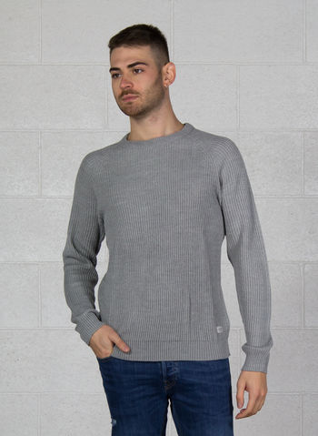 MAGLIONE PANNEL COSTE, LIGHT GREYMEL, small