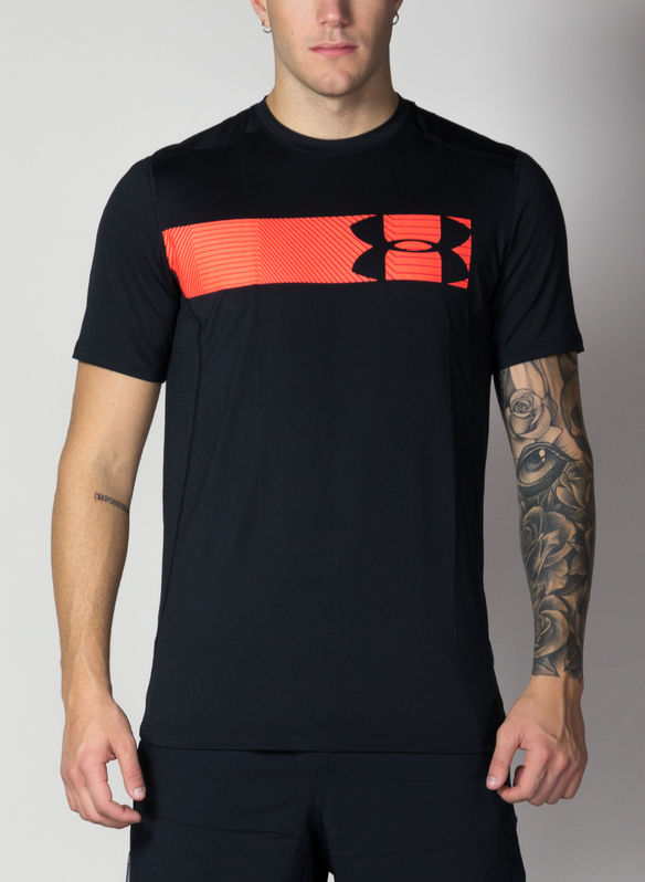 T-SHIRT RAID GRAPHIC, BLKRED, medium