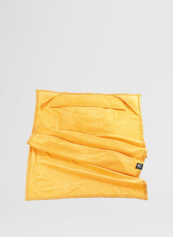 TELO BEACH KAMI MOE COTONE, YELLOW, medium