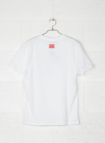 T-SHIRT BIG LOGO, BIANCO, small