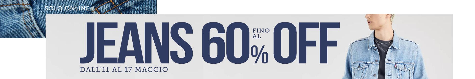 Promo Jeans fino al 60% OFF
